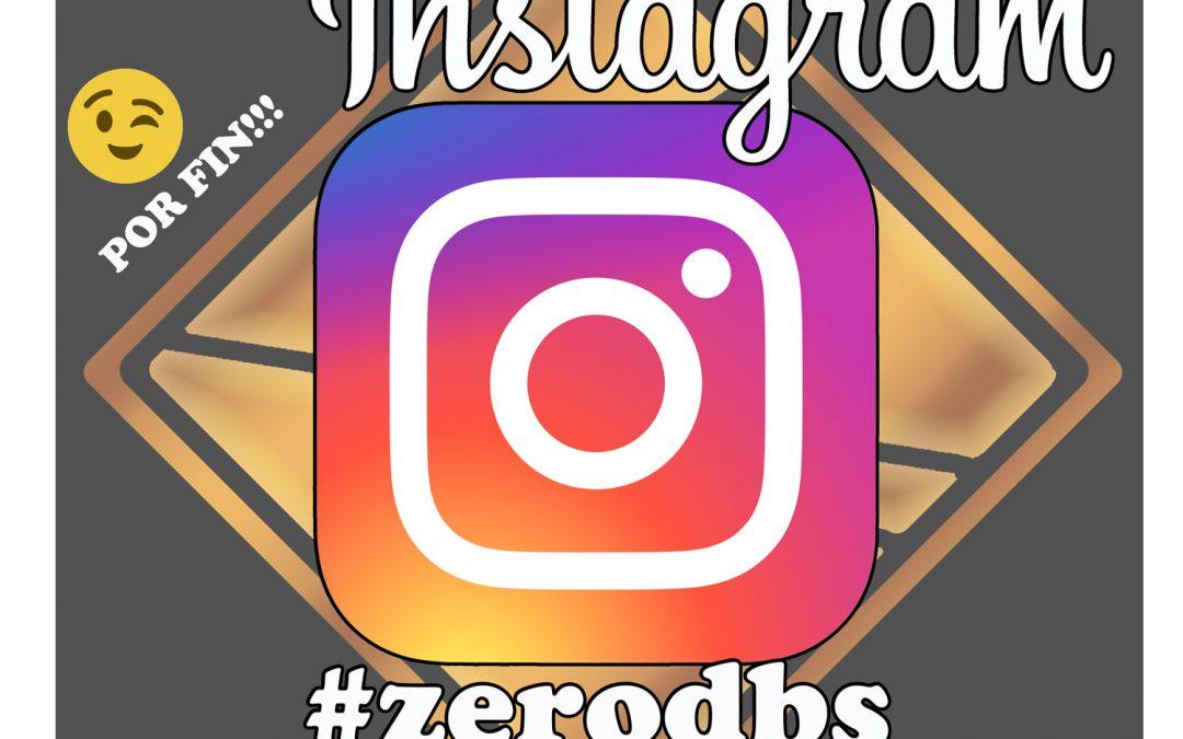YA ESTAMOS EN INSTAGRAM!!! #zerodbs #juanantoniocuevas_zerodbs